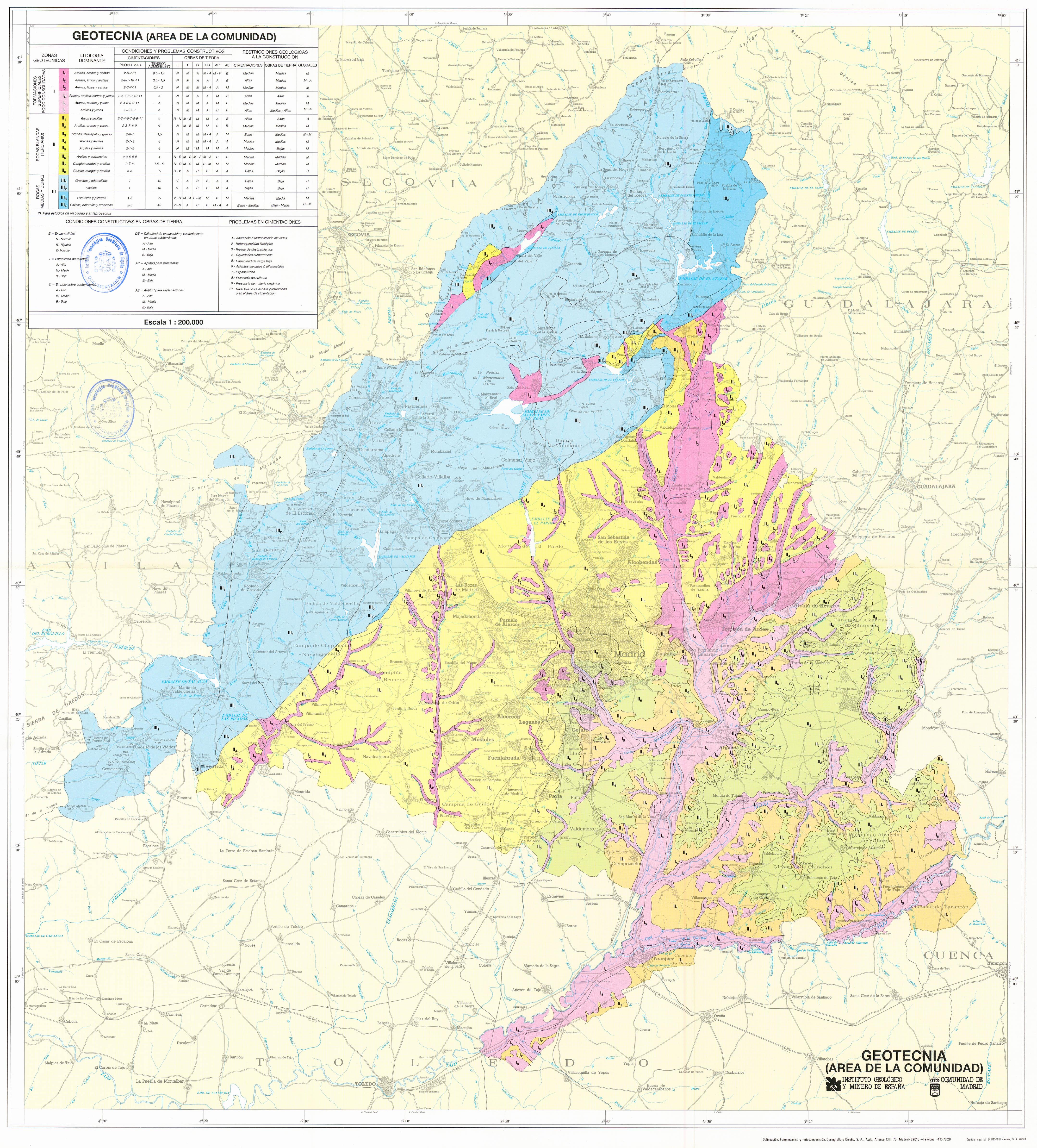 Mapasigme Portal De Cartografia Del Igme Atlas Geocientifico De