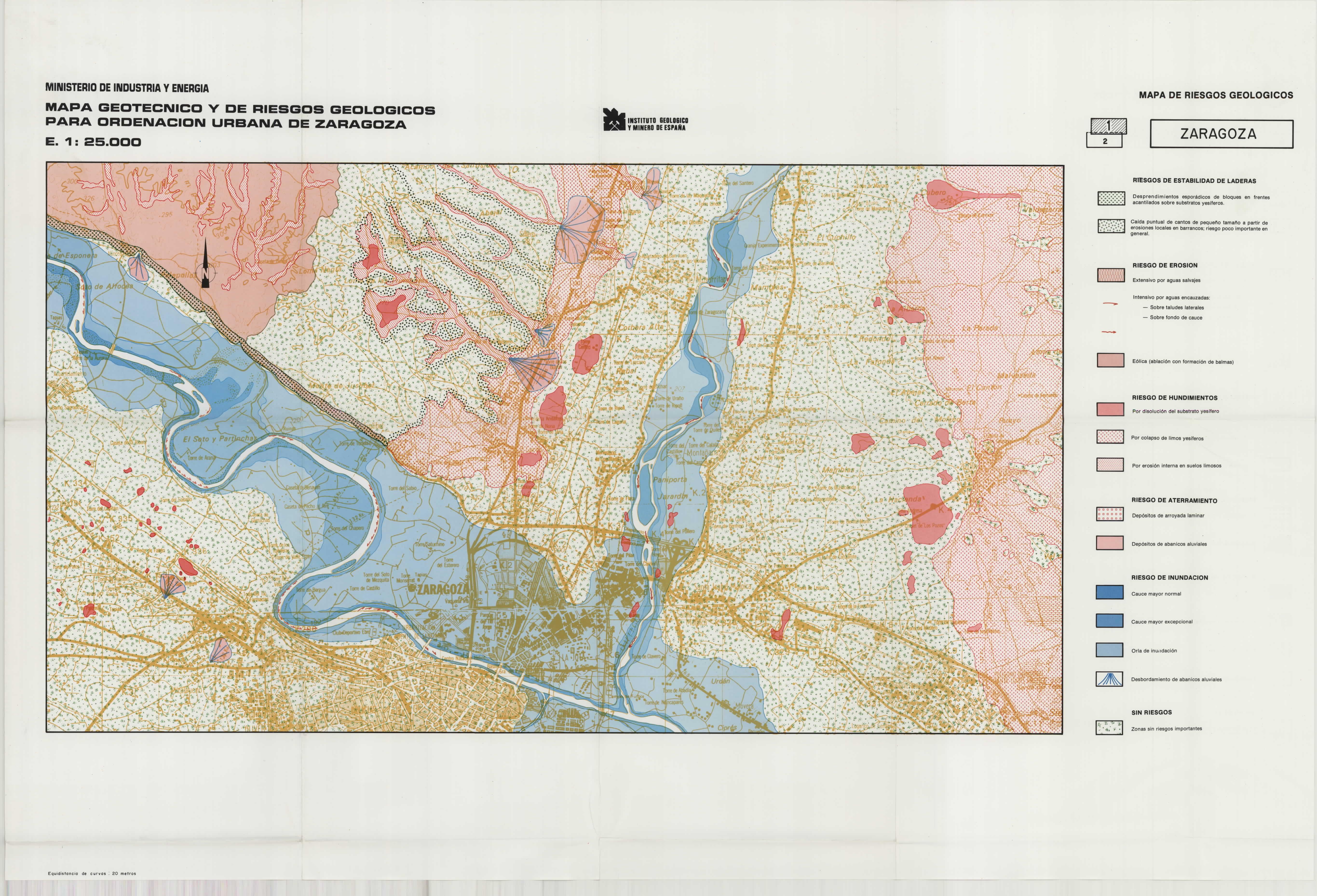 MapasIGME - Portal de cartografía del IGME: Mapa Geotécnico y de ...