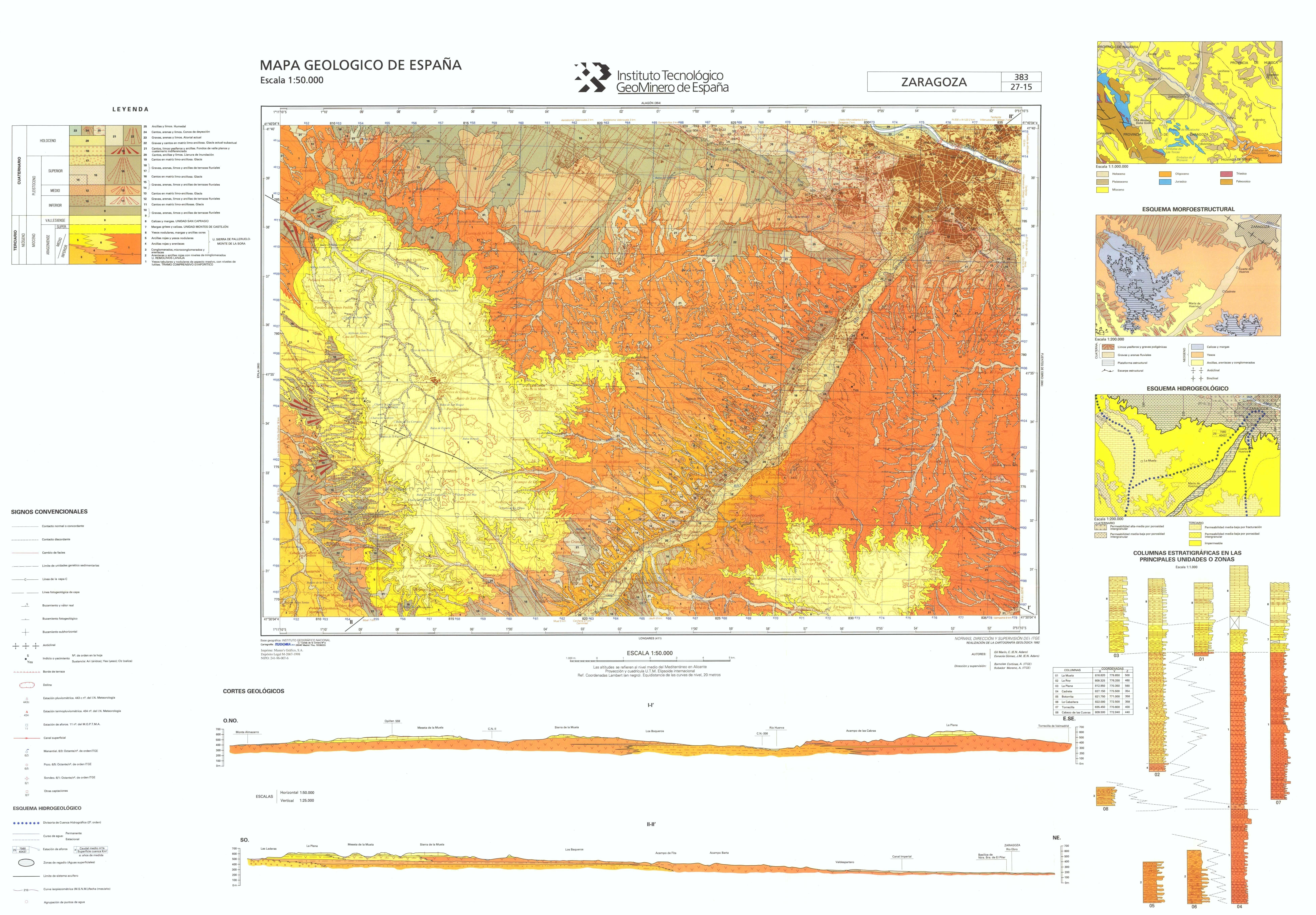 MapasIGME  Portal de cartografa del IGME MAGNA 50  Hoja 383