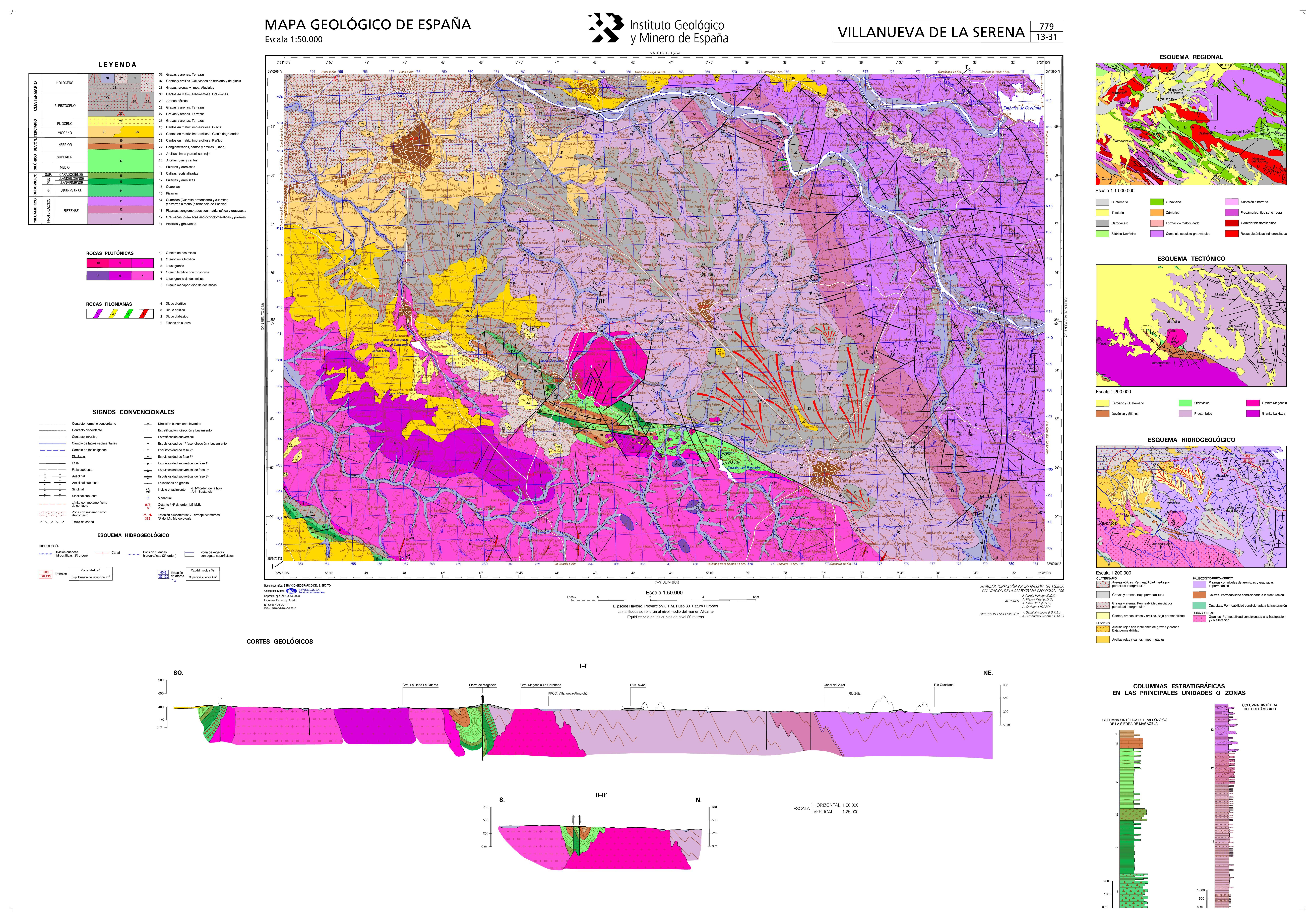 Mapasigme Portal De Cartografia Del Igme Magna 50 Hoja 779