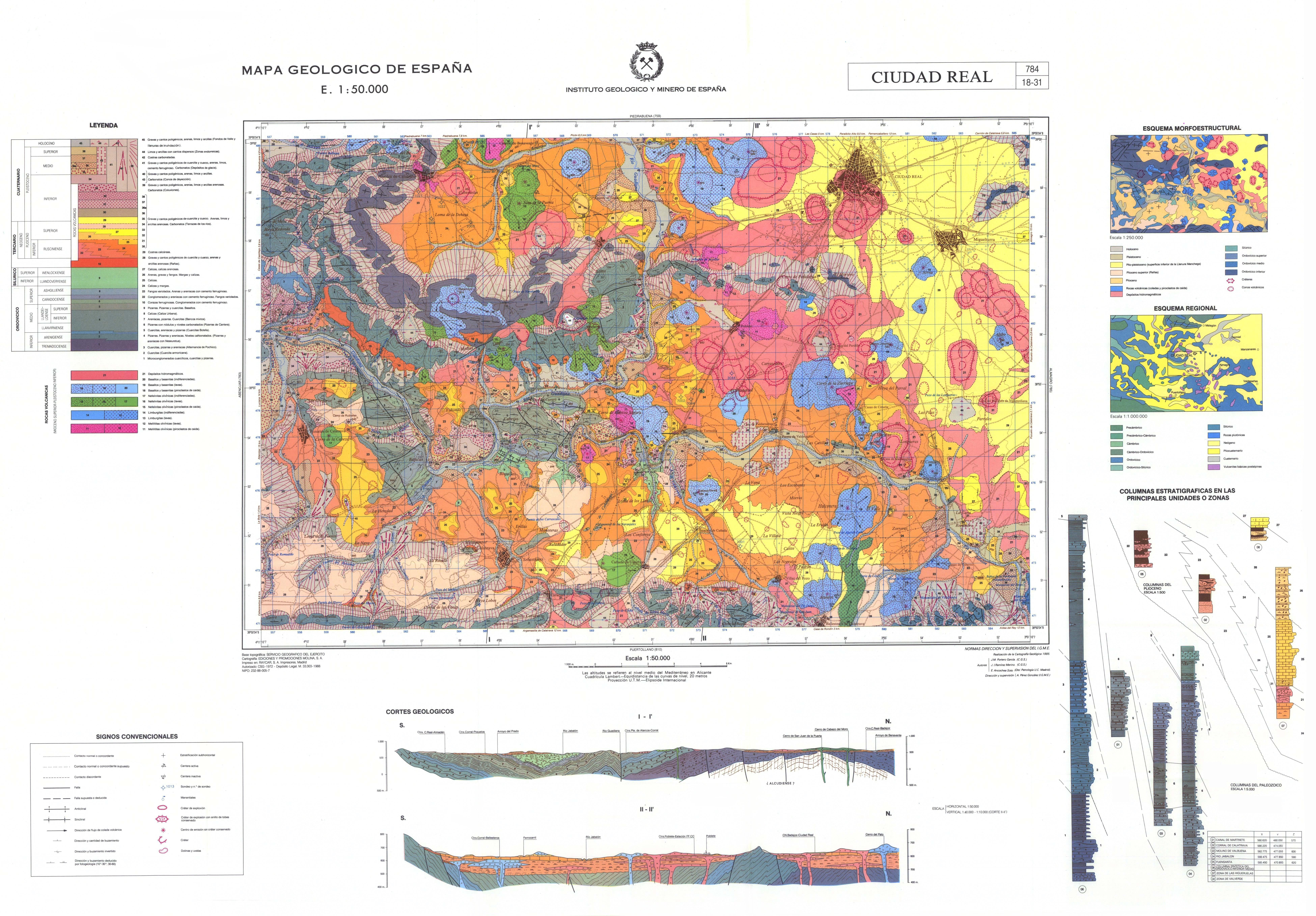 MapasIGME - Portal de cartografía del IGME: MAGNA 50 - Hoja 784 ...