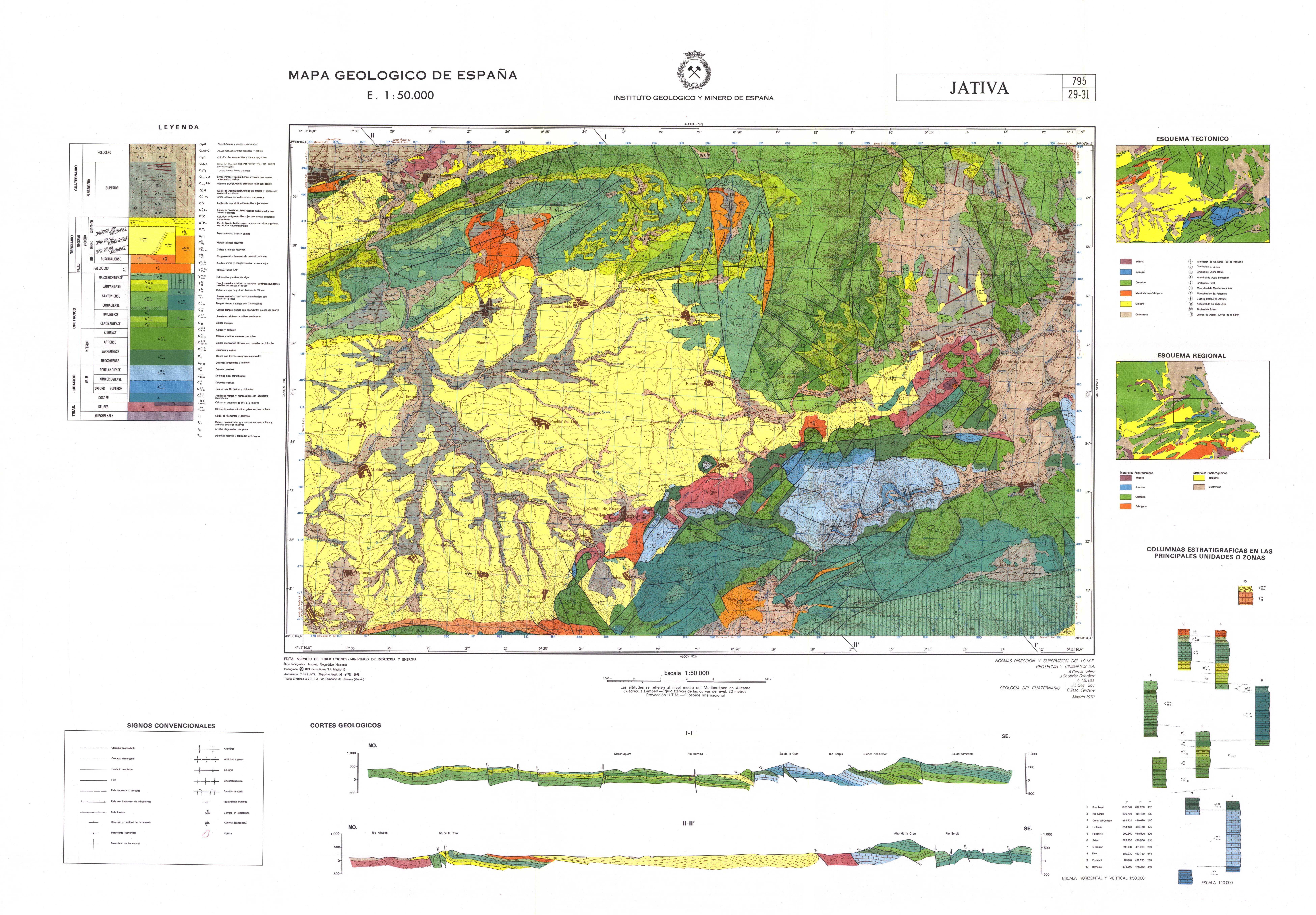 MapasIGME  Portal de cartografa del IGME MAGNA 50  Hoja 795