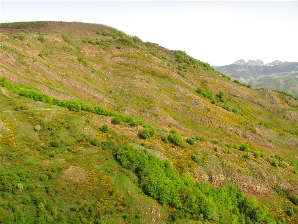 Panorámica del dúplex de Primajas desde Peña Ramil, una pequeña elevación adyacente al Collado de las Camperas.