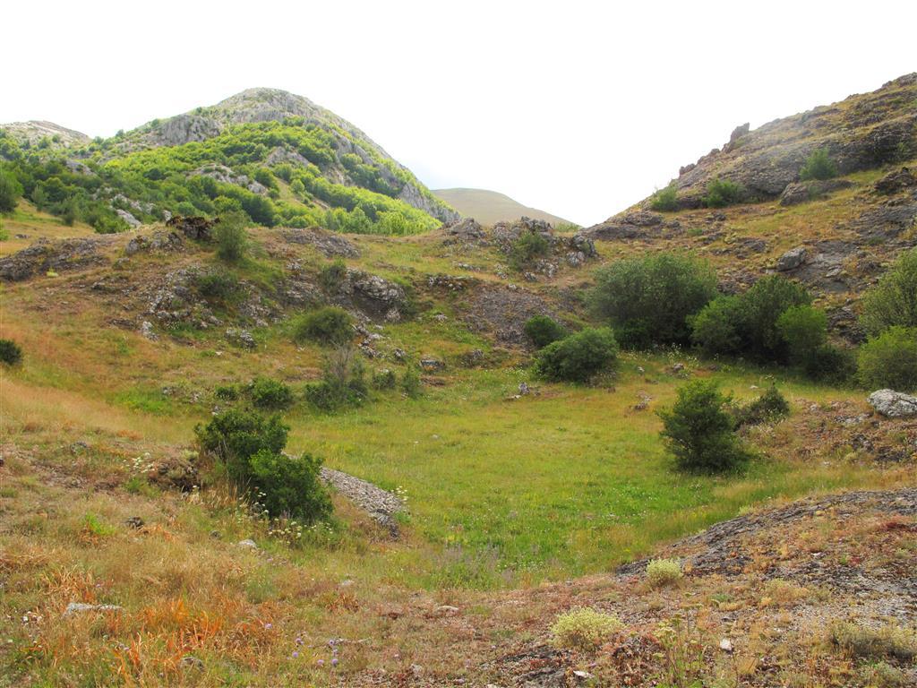 En las inmediaciones de las instalaciones de la cueva son muy frecuentes las dolinas. En la actualidad, existe una ruta señalizada en la que se muestran al visitante estas y otras estructuras características del exokarst.