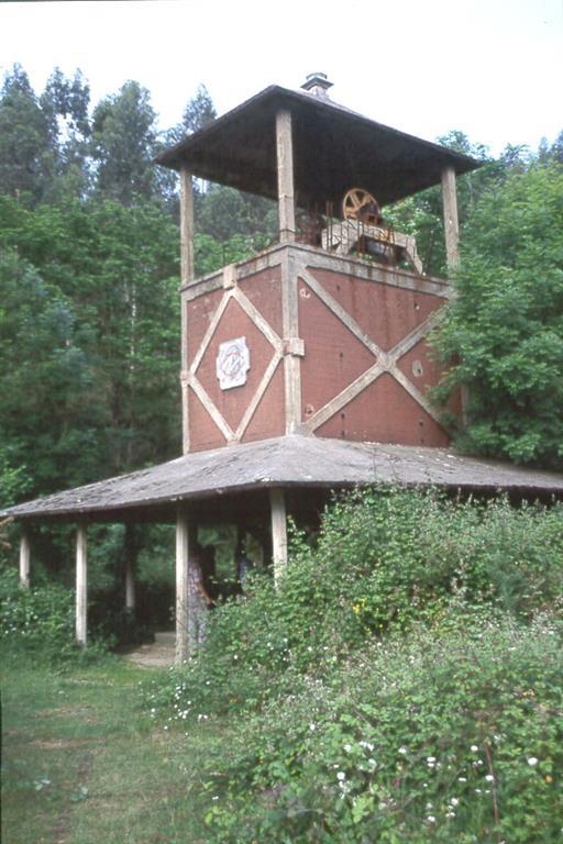 Castillete del pozo Sel del Haya, Udías (Cantabria)