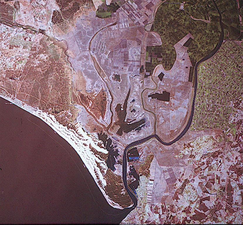 Imagen satélite general del parque
