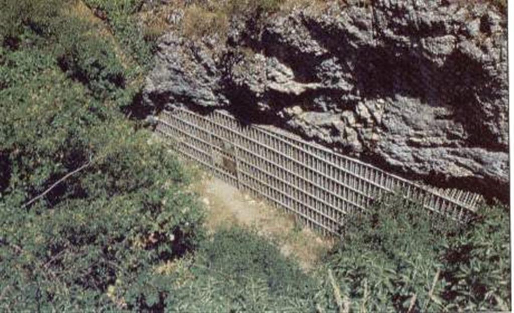 Vista general de la entrada de Cueva Mayor, del complejo kárstico de Atapuerca, cavidad que da acceso a la Sima de los Huesos (foto Equipo Investigador de Atapuerca)