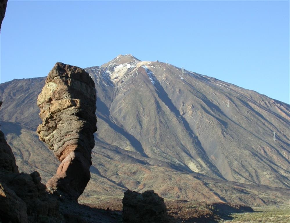 Roques de García. El Roque Cinchado