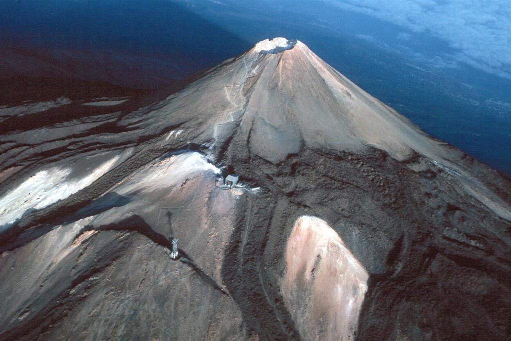 Visión aérea del Pico del Teide