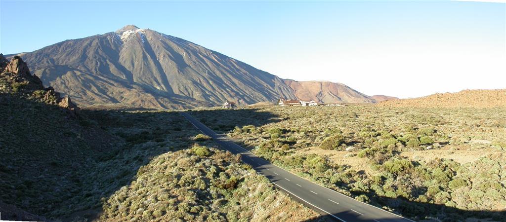 Panorámica del Teide