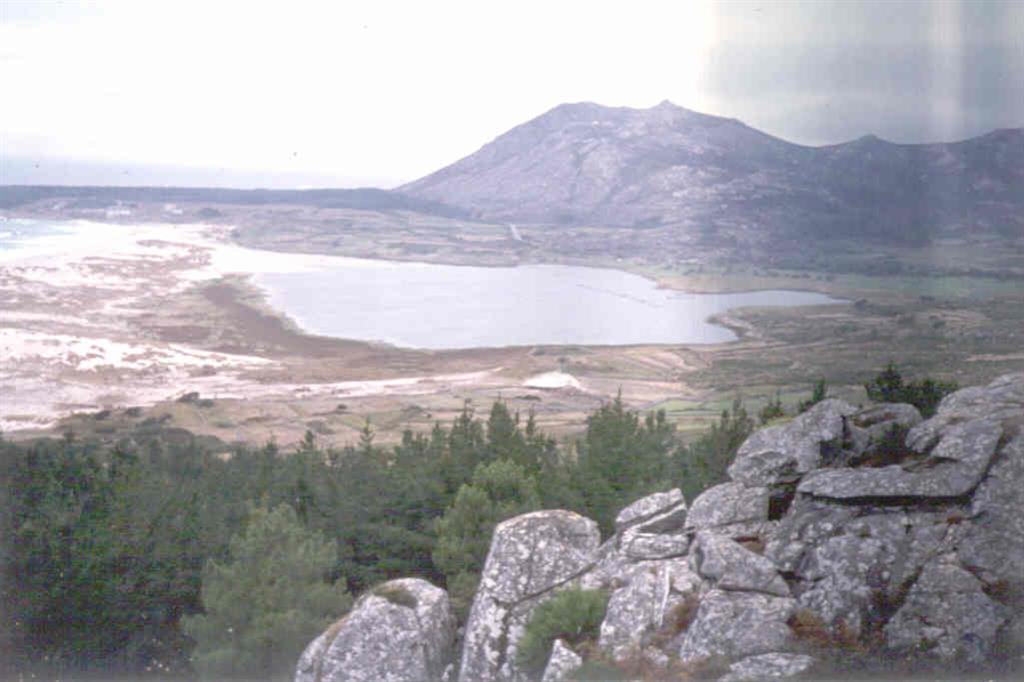 Panorámica desde el Monte Louro.
