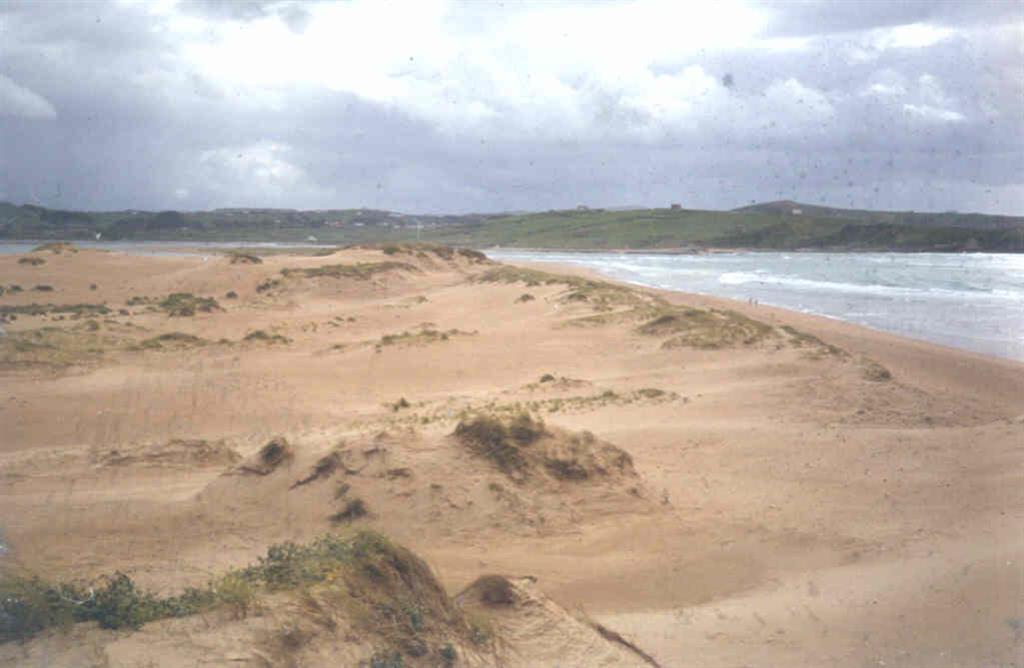 Aspecto de la barra de dunas principal.