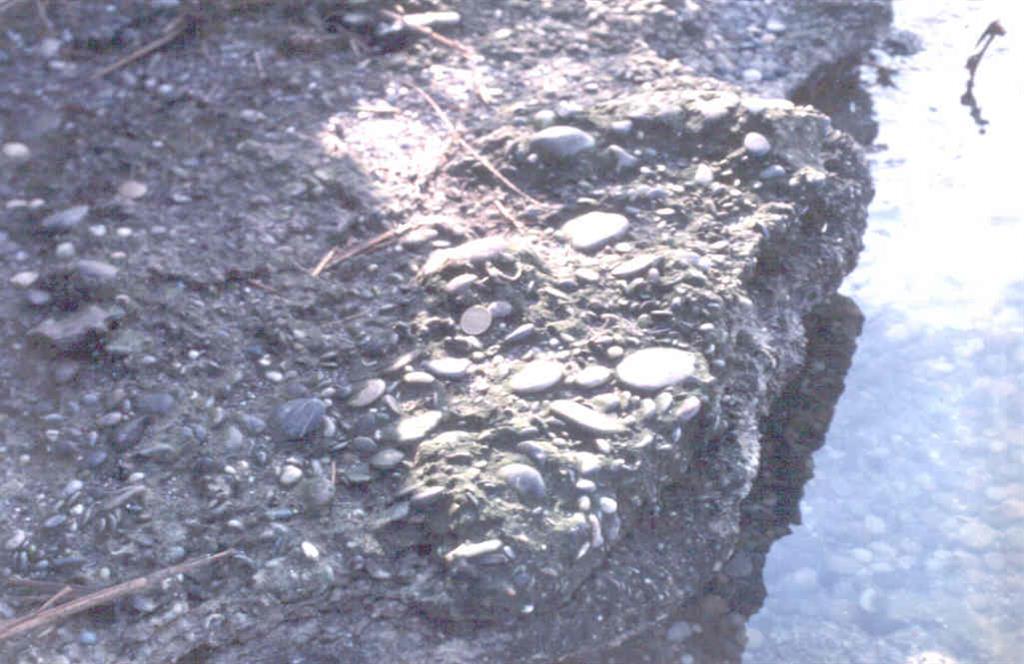 Sedimentos fluviales sobre las que se instala la Albufera.