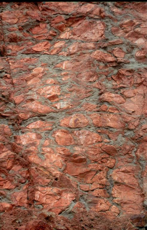 Aspecto del stockwork de la mina San Miguel