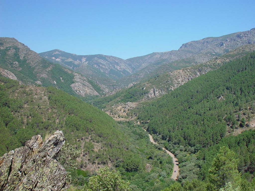 Entrada al Valle de las Batuecas