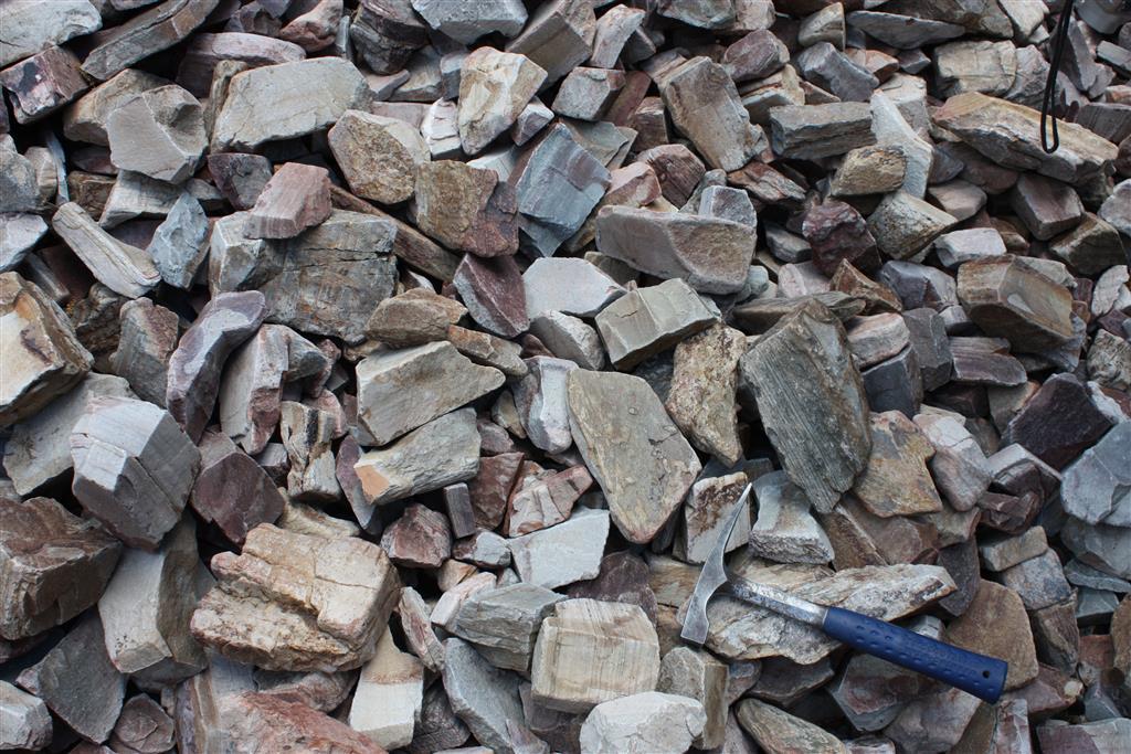 Textura del canchal y clastos que lo constituyen