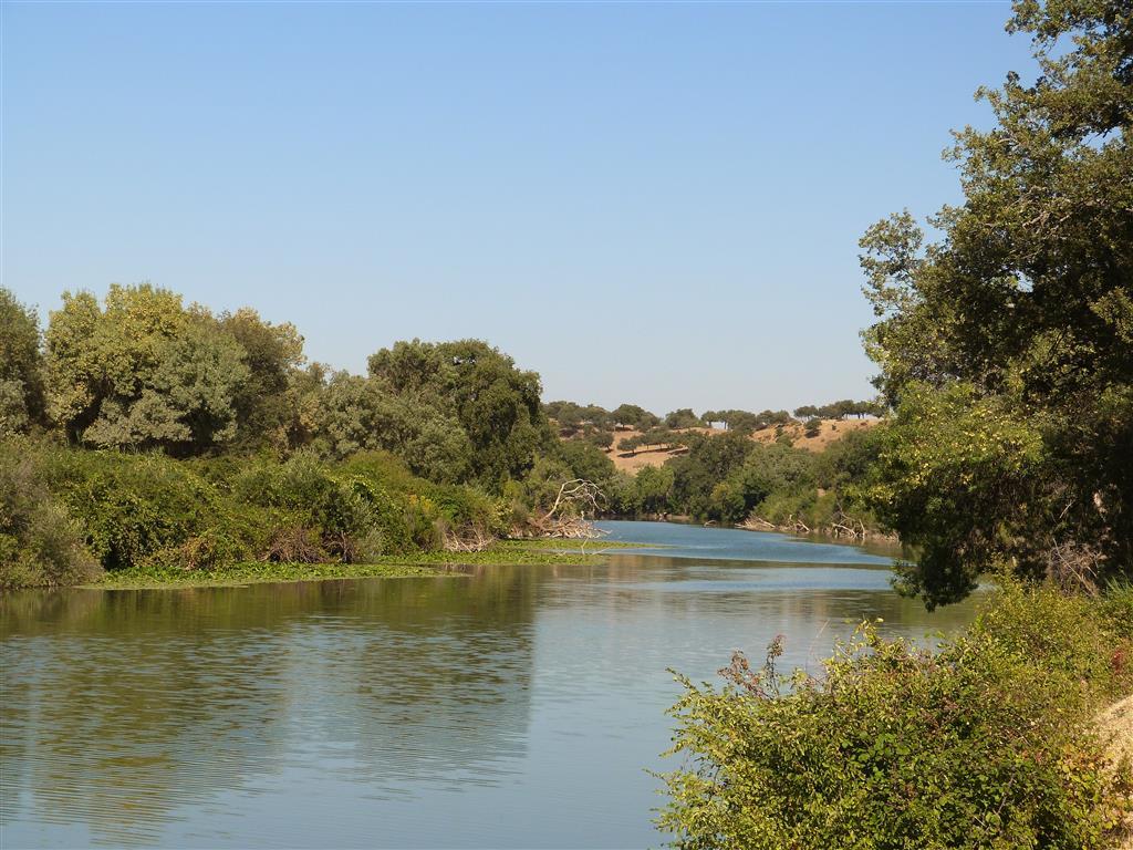 Galería fluvial en el Estrecho de La Huelga
