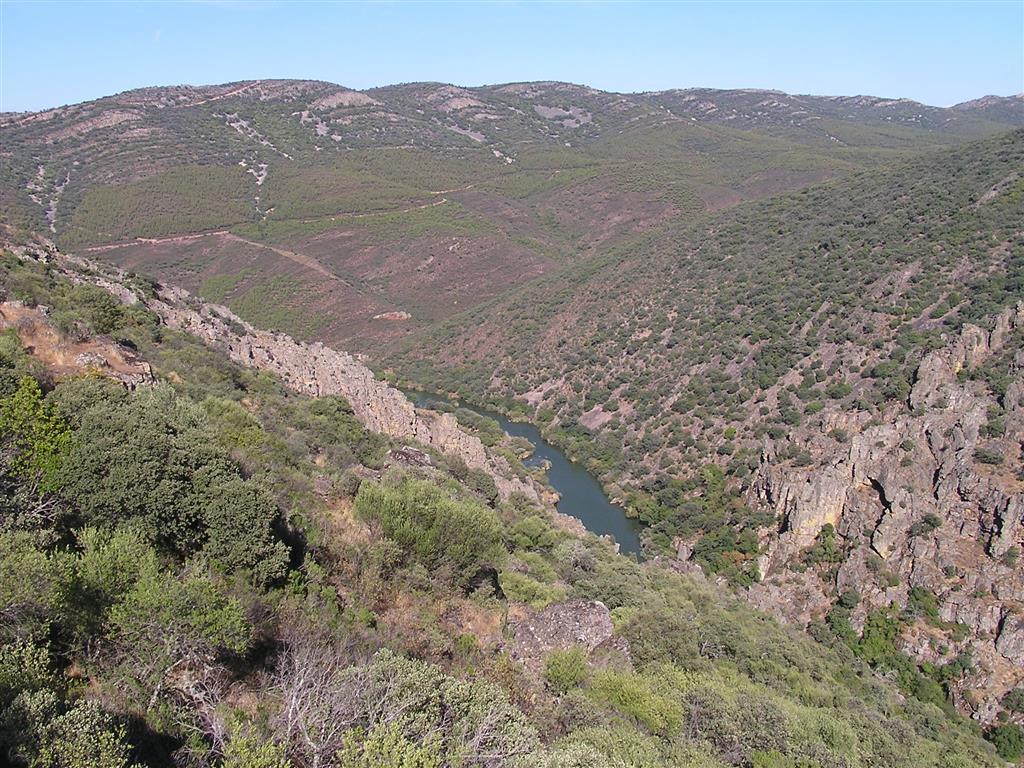 Tabla de El Burdalillo y Barranco de Valdecristo (Estrecho de Las Hoces)