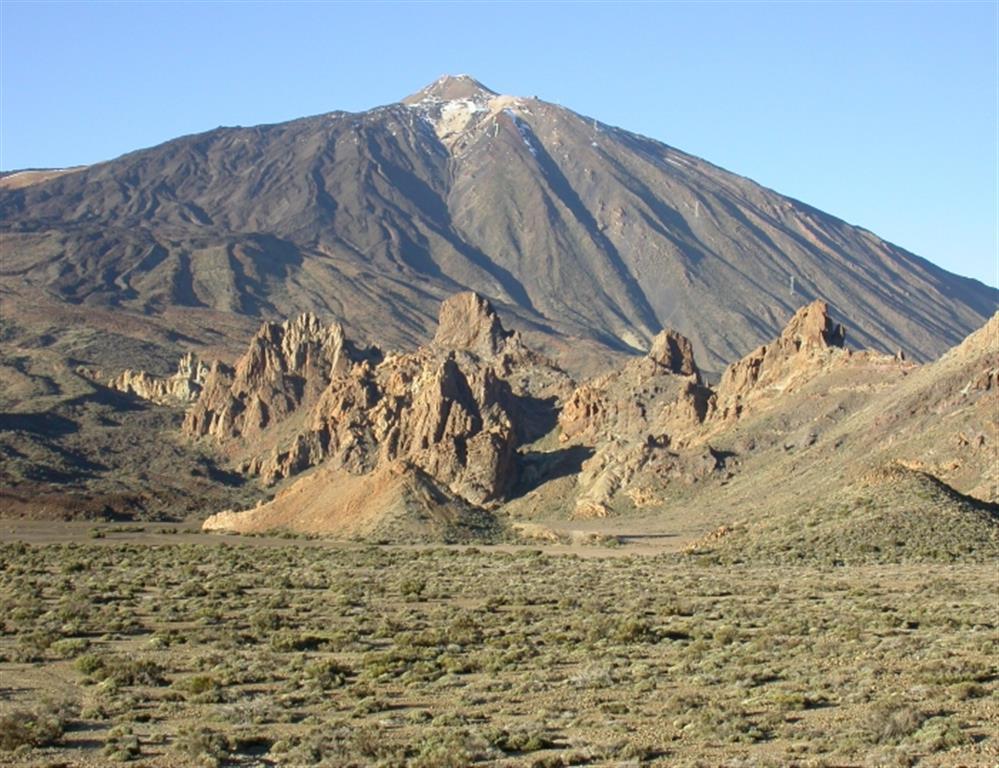 Al fondo Pico del Teide