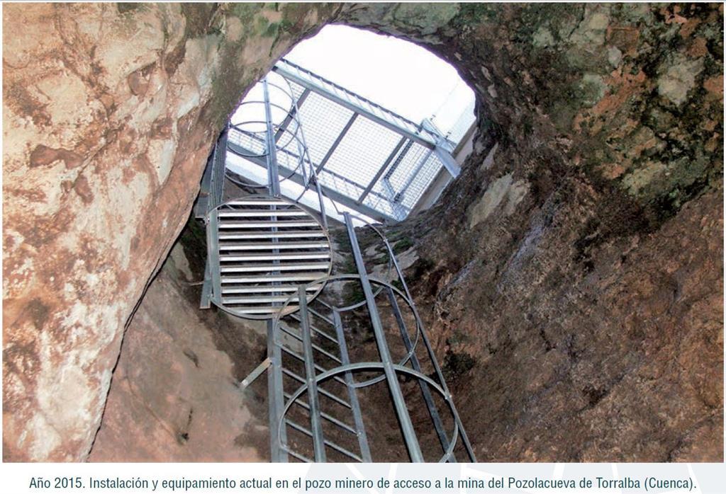 Entrada a la mina romana de Pozolacueva, Torralba (Bernárdez et al., 2015)